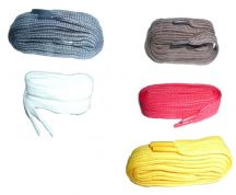 220cm BRITISH QUALITY Flat Shoe Boot Laces, choice of colours